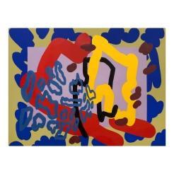 Oil and acrylic on canvas, 2019 125cm x 160cm