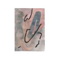 Watercolour on paper, 10 x 15cm 2020